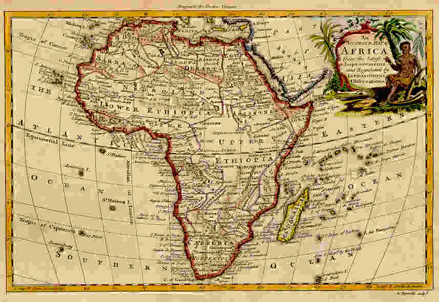 Map Of Africa 1800.Old Africa Map 1800 Campinglifestyle